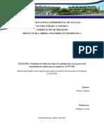 Informe de Proyecto - Telecomunicaciones