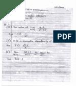Fybsc. Math. II Qp Code 783304