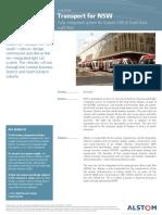 Sydney Tramway - Case Study - English