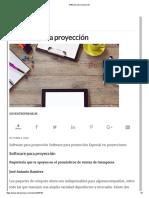 Software Para Proyección