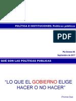 4. Políticas Públicas