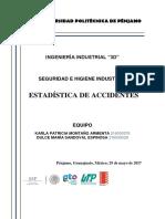 Estadística de Accidentes en Mexico