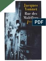 Yonnet Rue Des Malefices