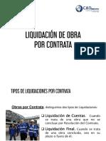 Liquidacion de Obra Por Contrata