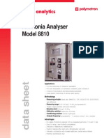 Polymetron Ammonia Analyser Model 8810