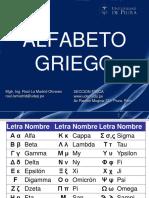 01 Alfabeto Griego 2013-II