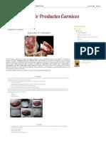 Bioquímica de CarnicProductos os_ SALAZON Y CURADO
