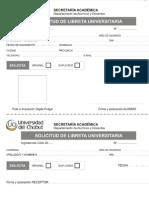 UDC Solicitud de Libreta