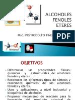 ALCOHOLES-FENOLES-ETERES