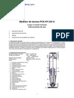 Manual Esclerometro Ht 225a
