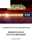 Presentation Fat Are Form Committee