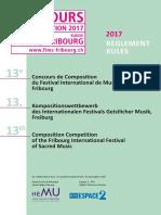 Musiques Sacrées (Fims), Fribourg-2017