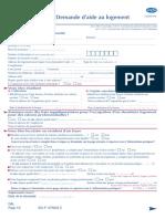 Demande Daide Au Logement (1)