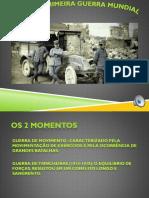Fases da primeira guerra mundial