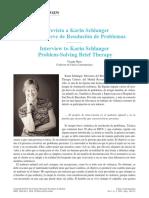 Karin Schlanger Entrevista