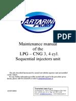 ENG - Injectors Rail Maintenance Guide LPG-CNG 3 , 4 Cyl (May03) (1)