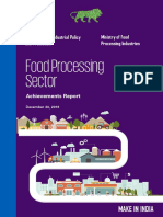 Food Processing- Achievement Report