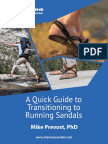 Mike Prevost Quick Guide to Transitioning to Running Sandals