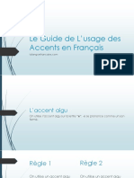 Le Guide de L'Usage Des Accents en Français