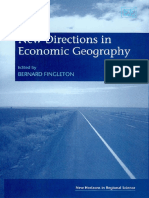 Bernard Fingleton New Directions in Economic Geography New Horizons in Regional Science.pdf