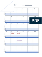 year long plan calendar