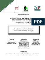 Traitement Primaire Des Effluents Fonctions Et Dimensionnement Des Ouvrages