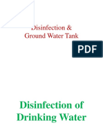 Disinfection and Ground Water Tank.pdf