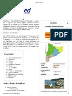 Cataluña - EcuRed