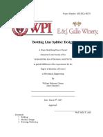 Design - Bottling line splitter.pdf