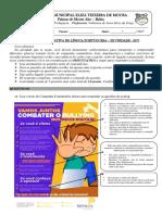 Avaliação de Lingua Portuguesa 7.3