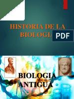 Historia de La Biologia