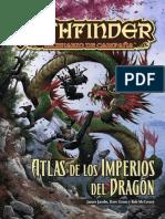 Pathfinder Escenario de Campaña Atlas de Los Imperios Del Dragón