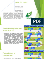 Que Es La Certificación ISO 14001