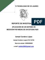 avance reporte investigacion r r ismael cordero