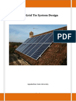 grid tied pv for apt