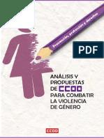 ESPAÑA-Propuestas Para Combatir La Violencia de Genero