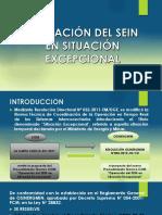 Operación Del Sein en Situación Excepcional