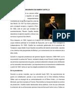 Biografia de Ramon Castilla