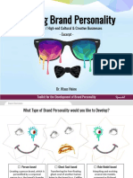 Upmarkit Toolkit - Building Brand Personality - Short