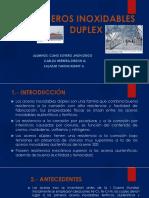 Aceros Inox Duplex