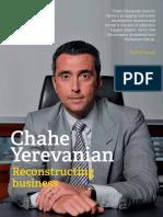 Entrepreneur Chahe Yerevanian