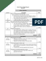 budget template 2016
