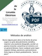 3 de Oct 2017 Métodos de análisis Ctos Eléctricos Otoño