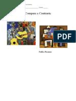 Comparação de Imagens Cubismo