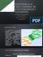Introduccion a La Geotecnia y Control de Calidad