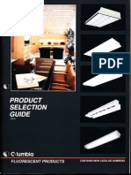 Columbia Lighting Product Selection Guide Edition 4 1996 (Revised)