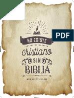 Tema1 No Existe Cristiano Sin Biblia