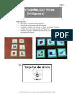 Set de Tarjetas Con Rimas _imágenes