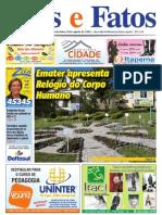 Jornal Atos e Fatos - Ed. 688 - 20-08-2010