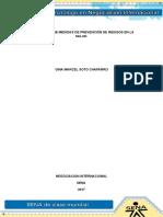 Evidencia 9 Informe Sobre Medidas de Prevencion de Riesgo en La Salud